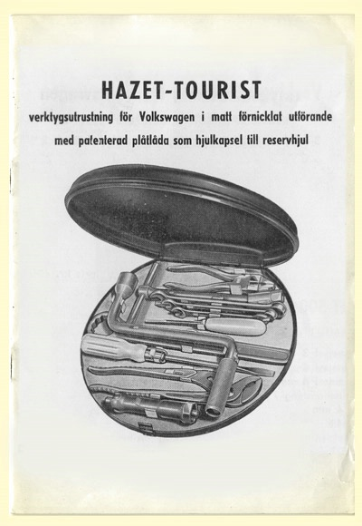HAZET Tools for Volkswagen 1952